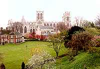 York Minster from the City Wall